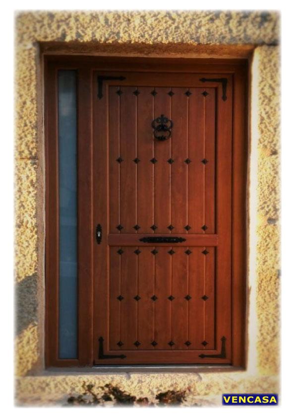 Precio puerta pvc exterior finest exterior precios - Puertas de entrada de pvc precios ...